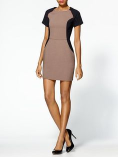 .This dress looks quite similar to an Avon dress that is sold in blue/black, and red/black.