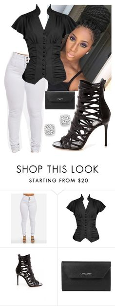 """""""I See & I Want It."""" by queenboldon ❤ liked on Polyvore featuring Lancaster and Bloomingdale's"""