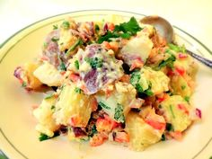 This potato salad is not only delicious it's low glycemic because it has resistant starch!  Get the recipe here. http://www.lifetimefatloss.com/healthy-potato-salad.html