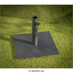 The attractive New York Square Parasol Base is manufactured in luxury heavy metal base with adjustable fastening.
