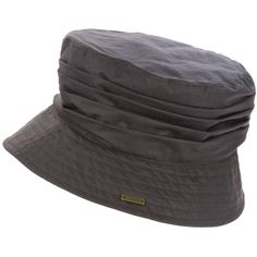 Women s Barbour Wax Pleated Crown Sports Hat - Rustic (3.285 RUB) ❤ liked on 36f3e0ea260f