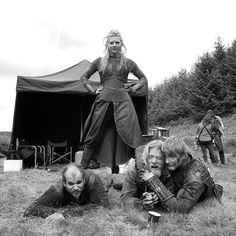 rebeccajoelson:      That one time, hanging with @historyvikings in Ireland… #setlife #vikings #behindthescenes #bts #ireland #mylifeasaphotographer #tbt #throwbackthursday  Source:rebeccajoelson