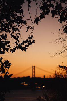 Coucher du soleil Lisbonne