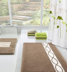 Delightful Large Bath Rug Decorating Ideas Gallery In Bathroom Large Bathroom Rugs, Bathroom Design Inspiration, Cheap Rugs, House, Bath Mats, Carpets, Bathroom Ideas, Decorating Ideas, Sketch