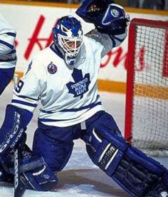 Felix Potvin (1991-1999) Hockey Goalie, Hockey Teams, Maple Leafs Hockey, Goalie Mask, Felix The Cats, Nfl Fans, National Hockey League, Toronto Maple Leafs, World Of Sports