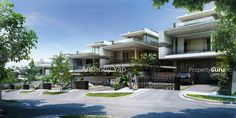 Into renderings by Vyonyx and MIR. Projects around the world in high resolution (renderings must be larger than 1500 pixels while i try to use Hotel Architecture, Gate House, House Front Design, Zaha Hadid Architects, Dream House Exterior, Village Houses, Villa Design, House Extensions, Detached House
