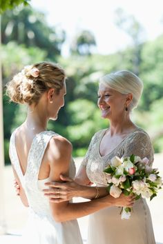 Browse the most stylish mother-of-the-bride dresses. In addition to mother-of-the-bride fashion advice, we're also sharing wedding etiquette and planning advice for all mothers of the bride and groom. Mother Of Bride Gifts, Mother Of The Bride, Mothers, Wedding Groom, Wedding Day, Wedding Stress, Wedding Etiquette, Groom Dress, Groom Wear