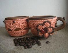 """Cute """"Cup Cozies""""!"""