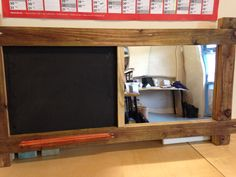 The fafunian Chalkboard and mirror combo