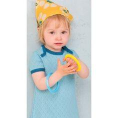 Lichtblauwe 'Crista Summer Dress' - Albababy
