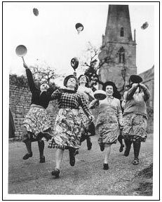 Pancake Day race: The most famous of these races dates back to 1445. Contestants (usually women wearing aprons) run while flipping a pancake in a frying pan