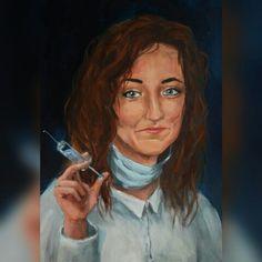 #portrait #tempera #malarstwo #art #painting
