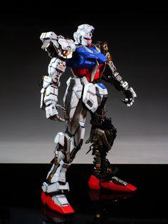 PG 1/60 GAT-X105 Strike Gundam + FX-550 Skygrasper: Full Photoreview Big Size Images. Modeled by masaki | GUNJAP