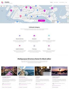 Citadela Listing - Directory WordPress Theme of the future coming very soon! Web Creation, Event Guide, Website Header, Themes Free, Building A Website, Create Website, How To Run Faster, Premium Wordpress Themes, Wordpress Plugins