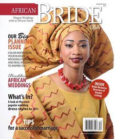 African Bride Magazine http://beautifulbrownbride.blogspot.com/