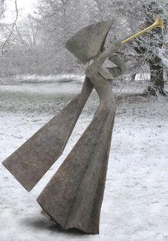 "Exultate Jubilate - Philip Jackson  Bronze Edition : 8 Height : 201 cm / 79"" Width : 114 cm / 44"" Depth : 132 cm / 52"""