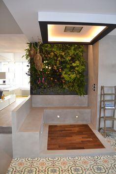 Jardin vertical comedor