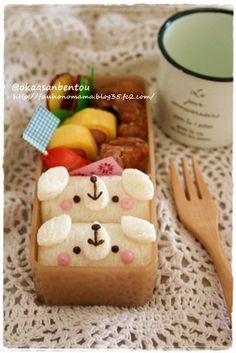 doggy sandwich bento