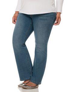 Motherhood Maternity Plus Size Petite Secret Fit Belly(r) Maternity Jeans
