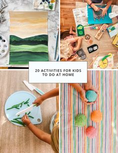 20 stress relieving activities for kids!