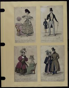 Mode. [XIXe siècle]. 1830