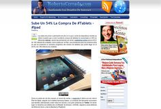 Las Mejores Webs, Tablets, Evergreen, Marketing, Shopping, Proposals
