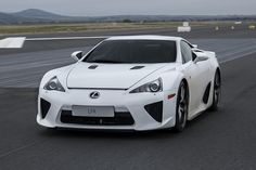 . LEXUS LFA The Lexus LFA is a supercar built by Lexus that began development in early 2000, but didn't enter production until 2010. The final product was sold for 2 years and a total of 500 units were built....