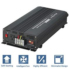 Home Improvement Power Inverter 4000w 8000w Pure Sine Wave 12v To 110v 120v With 40amp Output Fashionable Patterns