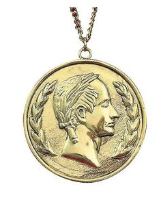 Caesar Coin Necklace