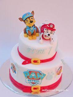 Paw patrol cakes mancs őrjárat torta