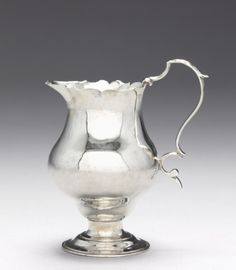 Cream Pitcher, c. 1765 fabricated by Paul Revere II (American, 1735-1818)
