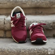 new balance 420 dark red