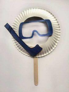 10 υπέροχες αποκριάτικες μάσκες από χάρτινα πιάτα!