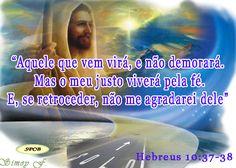 Salmos - Proverbios e passagens da Bíblia: Por isso, não abram mão da confiança que vocês têm...