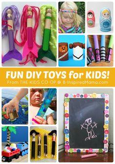 More DIY Toys from The Weekly Kids Co-Op - #kids #crafts #kbn #binspiredmama