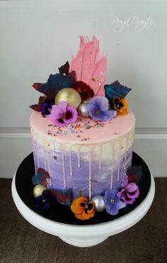 Violet cake by Dmytrii Puga