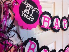 Popular items for 21st birthday decor on Etsy