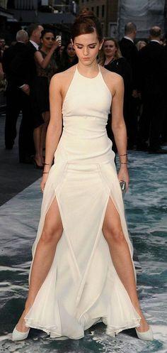 She looks like she's in a power stance, ready to khame hame ha!!!