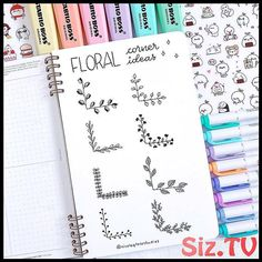 Bullet Journal Doodles: 20 Amazing Doodle Ideas For Beginners & Beyond! - Meraadi These bullet journal doodles and doodle tips and ideas are exactly what you need to learn how to doodle. Perfect for beginners and more advanced doodlers! Bullet Journal School, Bullet Journal Inspo, Bullet Journal Titles, Bullet Journal Banner, Journal Fonts, Bullet Journal Notebook, Bullet Journal Aesthetic, Beginner Bullet Journal, Bullet Journal Numbers