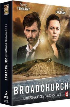 COFFRET BROADCHURCH saisons 1 à 3 - DVD NEUF