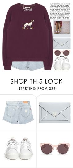 """""""you're going to make something wonderful of yourself, just wait and see."""" by alienbabs ❤ liked on Polyvore featuring Polaroid, Dorothy Perkins, Ash, Christian Dior, clean, organized and shein"""