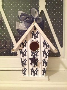 New York YANKEES Baseball  Handmade Wood by BirdhouseGiftGallery, $15.00