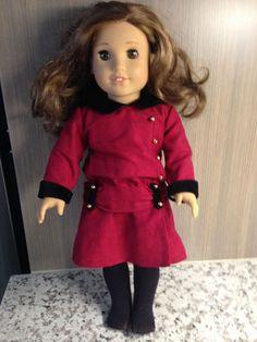 "American Girl 18"" Rebecca Rubin Doll With Clothes #AmericanGirl #Dolls"