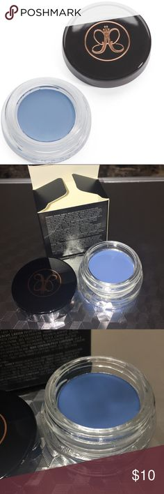 Anastasia Beverly Hills Water Creme Color Brand New. Ultra-pigmented waterproof color that won't crease or smudge, use for a wide range of applications from liner to base, to body for a bold wash of color in matte and shimmer shades, remove with waterproof eye makeup remover size: .14oz Anastasia Beverly Hills Makeup Eyeshadow