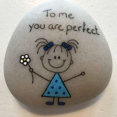 May 2020 - DIY painted rocks and stones for kids. Easy crafts for children. See more ideas about Painted rocks, Crafts and Rock crafts. Stone Crafts, Rock Crafts, Diy And Crafts, Crafts For Kids, Arts And Crafts, Kids Diy, Simple Crafts, Simple Art, Pebble Painting