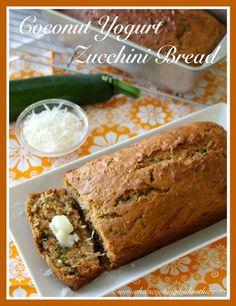 Coconut Yogurt Zucchini Bread Recipe!