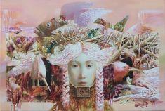 Anna Berezovskaya Evening 40 x 60 cm Oil on canvas