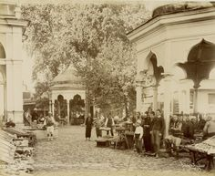 World War I, Wwi, 16th Century, Istanbul, Ottoman, Street View, History, Architecture, Painting