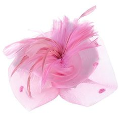 Uryouthstyle Pink Feather Party Hat Fascinators Hair Pillbox Wedding Accessory Uryouthstyle http://www.amazon.com/dp/B01EC1H3MA/ref=cm_sw_r_pi_dp_tZAfxb1BCQZYN