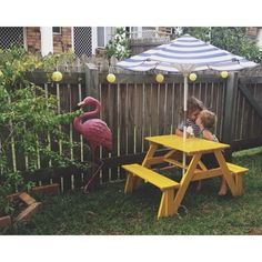 how to make a modern kids picnic table Diy Picnic Table, Diy Table, Kids Picnic, Summer Picnic, Kids Furniture, Outdoor Furniture Sets, Outdoor Decor, Garden Furniture, Office Furniture